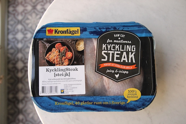 kycklingsteak Kronfågel