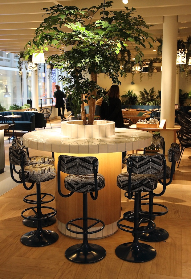 It's Pleat H&M's café i Stockholm