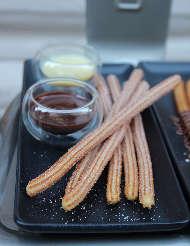 long and thin churros